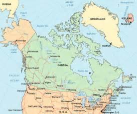 map of canada exportcanada