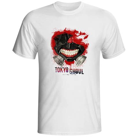 design t shirt tokyo tokyo ghoul t shirt top fashion brand japanese anime t