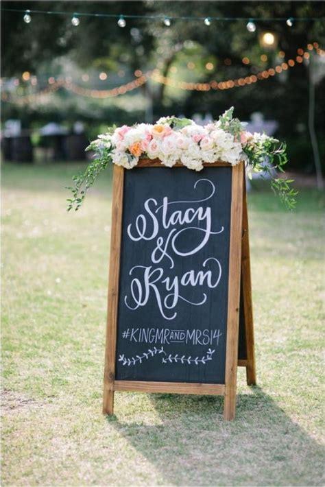 Table Top Easels 40 Chalkboard Wedding Ideas To Steal Immediately Deer
