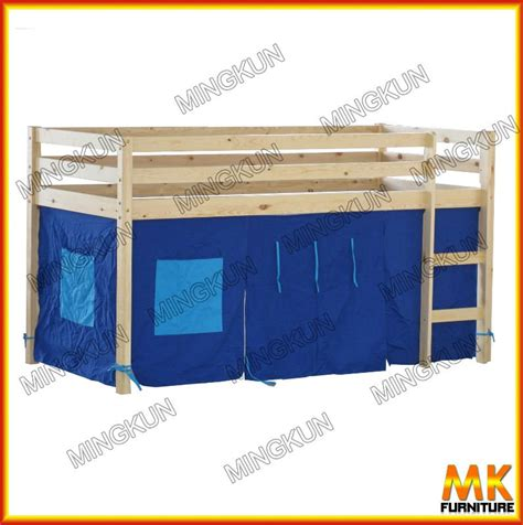 play curtain pine bunk bed with play curtain buy trundle bunk beds