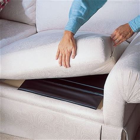sagging couch cushions seat savers fix a sagging sofa cushion support boards