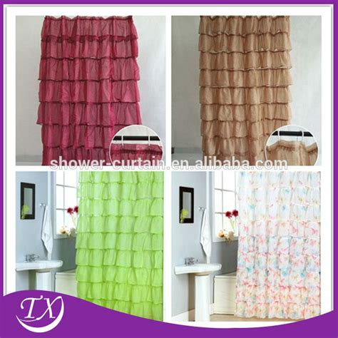 Valance Color Changing Polyester Shower Curtains Buy