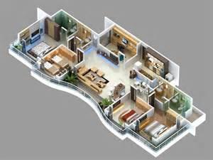 4 Bedroom Rentals 50 Four 4 Bedroom Apartment House Plans Bedroom