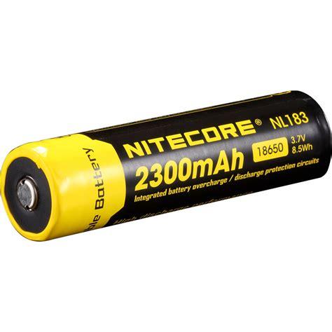 Nitecore 18650 Baterai Li Ion 2600mah 3 7v Nl1826 Promo nitecore nitecore 18650 li ion rechargeable battery nl1823 b h