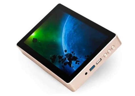 Touchscreen Mini 1 gole1 plus mini pc with 8 inch touchscreen unveiled for 200 geeky gadgets