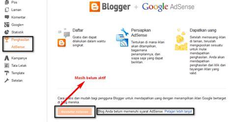 adsense youtube dan blog menu tersembunyi blogger mamang adsense belajar