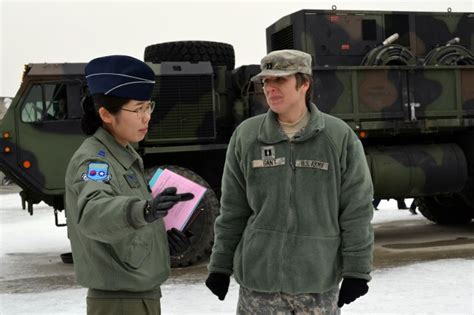 Air Defense Artillery Officer by Rokaf Cadets Learn U S Patriot Missile Anatomy Article