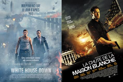 film action white house white house down vs la chute de la maison blanche le