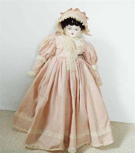 china doll bend or collectible china doll vintage collectible doll pioneer doll