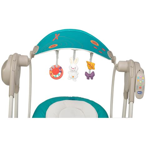 polly swing up chicco balancelle polly swing up silver de chicco balancelles