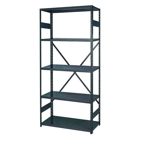 edsal 75 in h x 36 in w x 18 in d 5 shelf steel