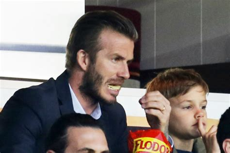 Proof Beckham Does Not Eat by Photos Their Faces