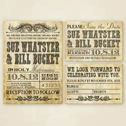 western wedding invitation set printable western wedding invitations invitation set and