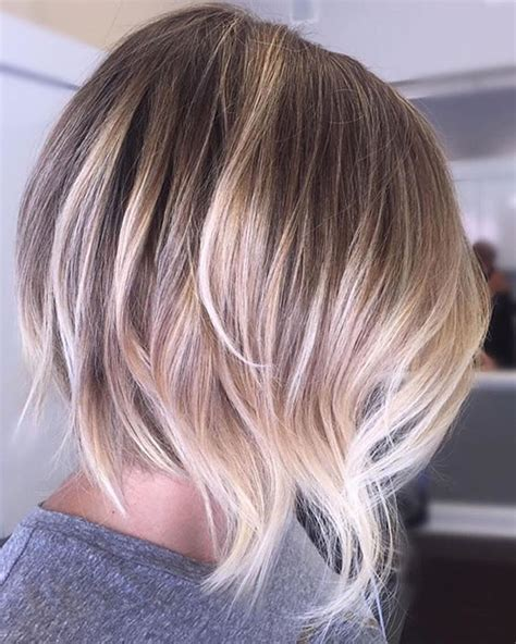 ombre hair color for short hair at 50 ombre colored short hairstyles for summer 2018 2019 page