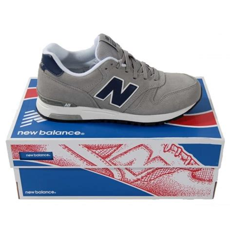 Heel Gnr 1 new balance ml565 gnr grey suede mens clothing from