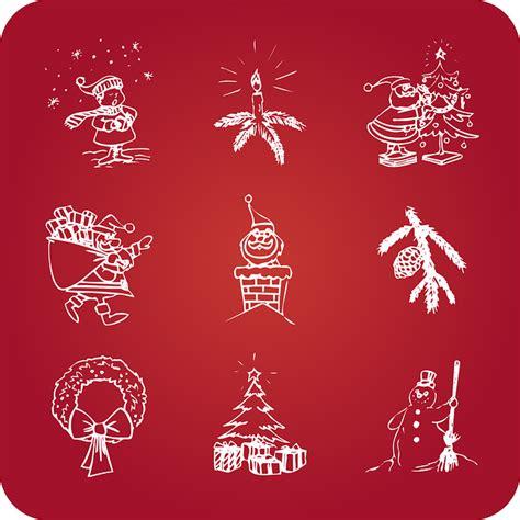 imagenes navidad sin copyright textura fondo rojo con dibujos de navidad imagenes sin
