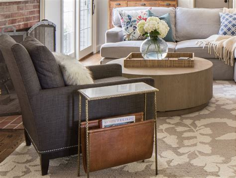 chair side tables living room renovated home with coastal interiors home bunch