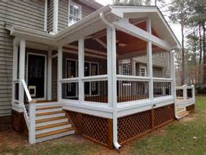 Screened Porch Plans by Miscellaneous Screened In Porch Ideas Interior
