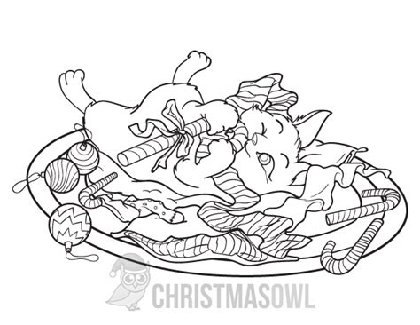 coloring pages christmas cats charming christmas cat coloring pages ideas resume ideas