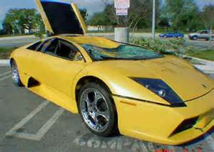 Lamborghini Crashed For Sale Wrecked Lamborghini For Sale Murcielago For Sale 35 000