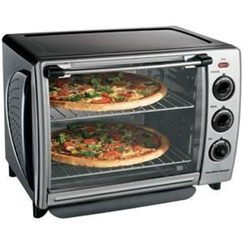 Hamilton 31197 Countertop Oven With Convection And Rotisserie by Hamilton 6 Slice Convection Toaster Oven With