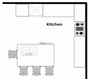 island kitchen floor plans island kitchen layouts