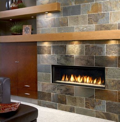 Gas Fireplace Mantle by Gas Fireplace Lights Mantel Linear Look