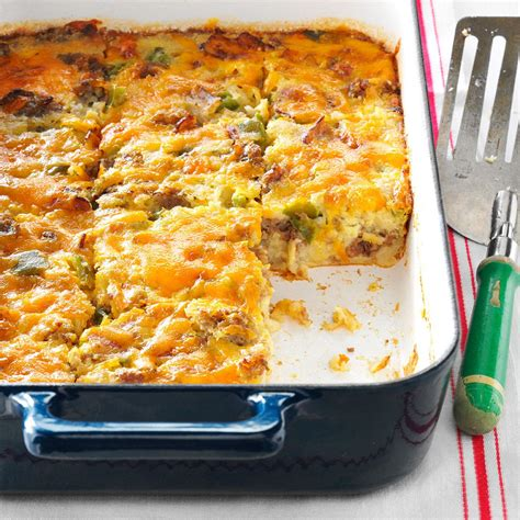 brunch casserole recipe taste of home