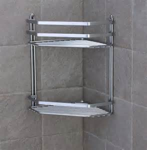 Bathroom Corner Shelving Simple Bathroom Corner Shelf That Gives The Awesome Function Ruchi Designs