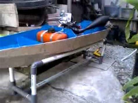 Mesin Rumput rc boat mesin rumput test engine