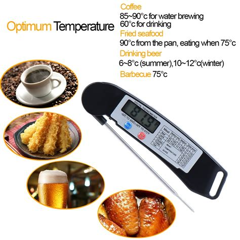 Food Thermometer For Kitchen Cooking Bbq Thermometer Makanan 10128 kitchen cooking bbq digital probe food thermometer digital food food thermometer luxebell