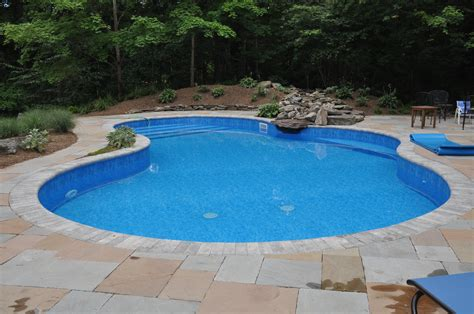 Pool How Much Swimming Pool Cost In Modern Home Backyard Lights Pool Liner Price