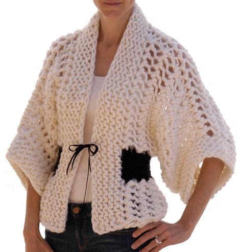 knitting pattern kimono cardigan japan inspired knitting patterns in the loop knitting