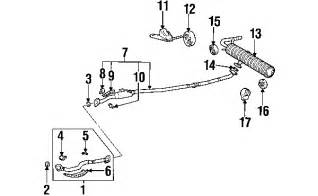 Toyota Rav4 Exhaust System Diagram Parts 174 Toyota Rav4 Exhaust Components Oem Parts