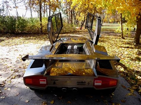 Lamborghini Built In Basement Lamborghini Countach Built In S Basement