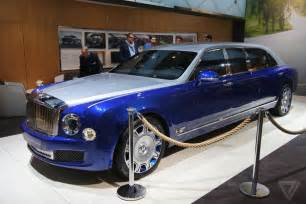 Bentley Chauffeur The Bentley Mulsanne Grand Limousine Is Opulence On An