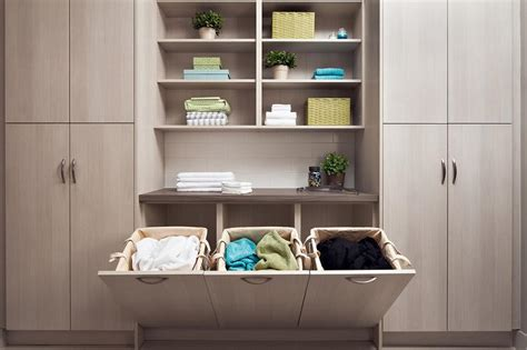Bathroom Closet Shelving Ideas by 40 Laundry Room Cabinets To Make This House Chore So Much