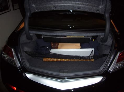 Acura Tl Cargo Net Installed The Accessory Trunk Drawer In My 4g Tl Today