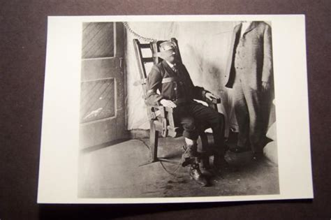Real Electric Chair Execution by Awaiting Execution 9 12 1908 Electric Chair