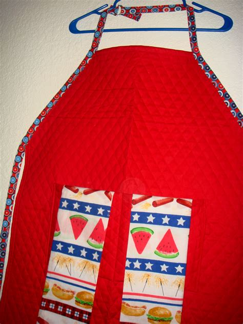 pattern for bbq apron free uncle b s bbq apron towels sewing projects