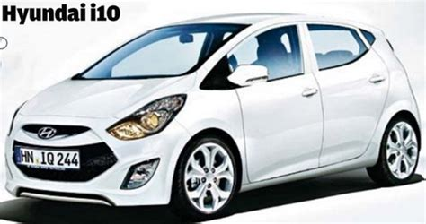 new model hyundai i10 2014 hyundai i10 new model picture rendered will come in