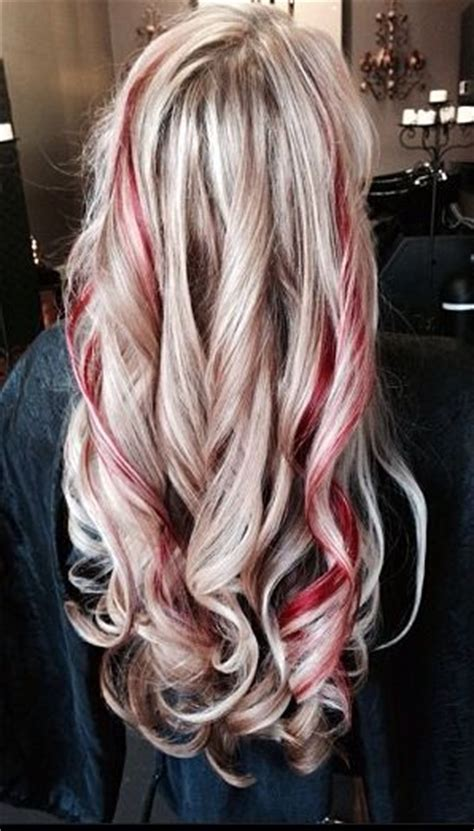 red hair all over best 25 one blonde streaks ideas on pinterest purple