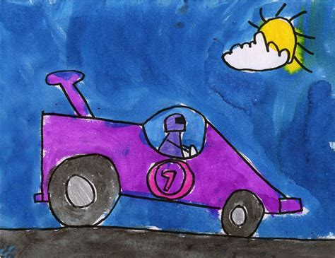 painting racing cars race car projects for