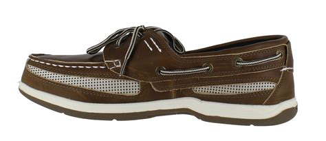 mens island surf cod lightweight casual lace up boat shoes sizes 6 5 to 13 ebay