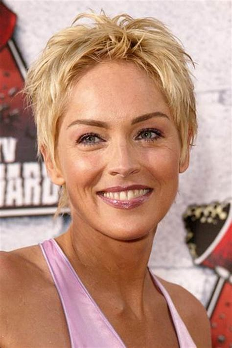 easy medium hairstyles for moms on the go sharon stone hair cut 2014 newhairstylesformen2014 com