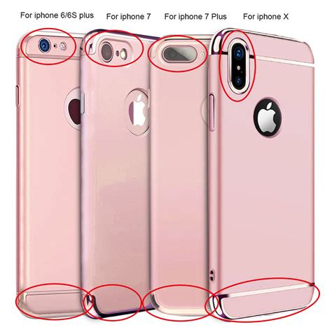 Iphone 8 Plus Hardcase for iphone x 6 6s 7 8 iphone8 plus shockproof ultra thin hybrid h