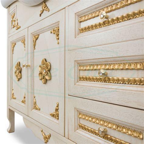bagno stile barocco mobile bagno stile barocco veneziano impero foglia oro