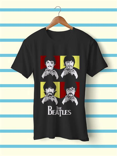 T Shirt The Beatles Are Back beatles t shirt teegully
