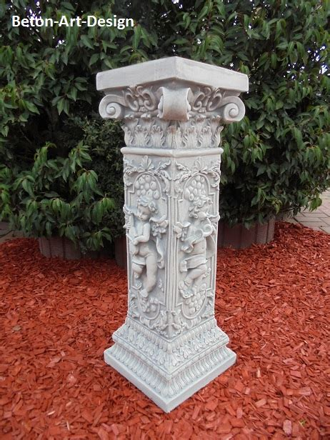 säule griechisch beton design onlineshop f 195 188 r gartenfiguren