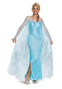 disney frozen halloween costumes frozen elsa prestige costume
